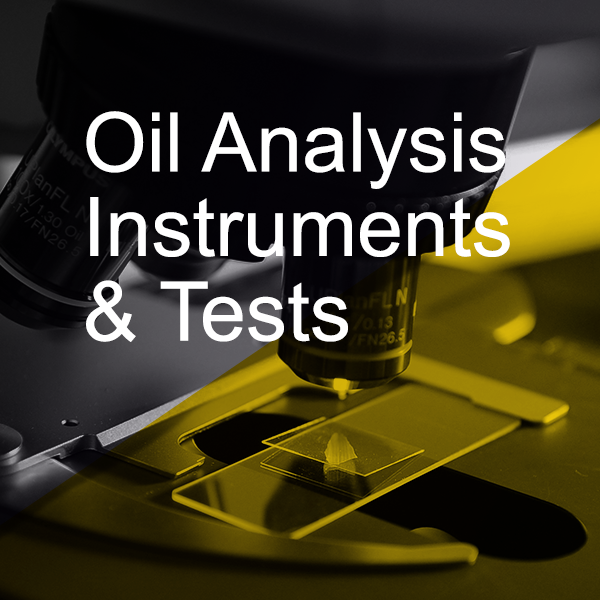 3 Phased Approach: A quick guide to Oil Analysis instruments and tests