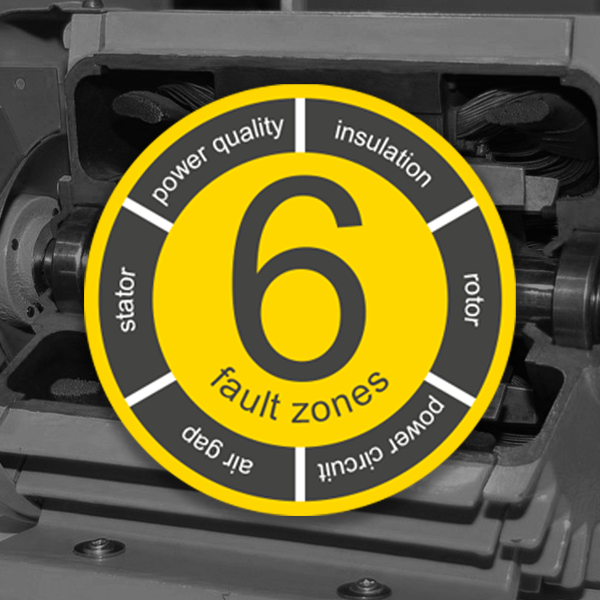 Know your motor health with the 6 Fault Zones